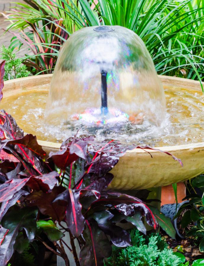 Vil du have dit helt eget springvand i haven?